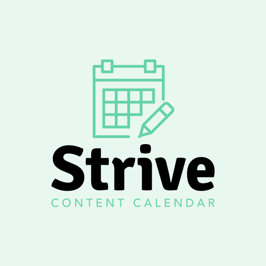 strive logo only square