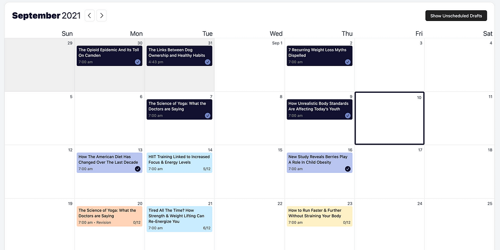 color blind calendar