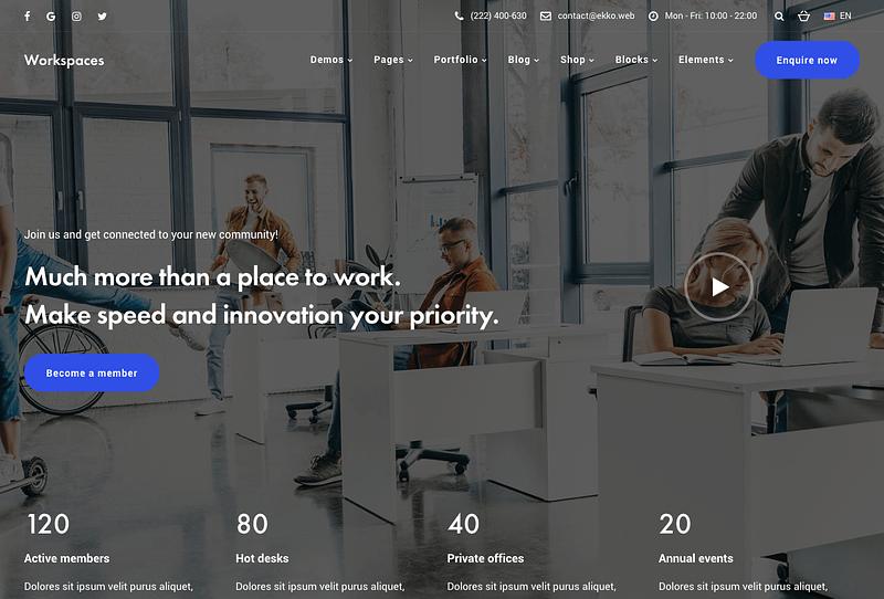 Ekko Workspaces