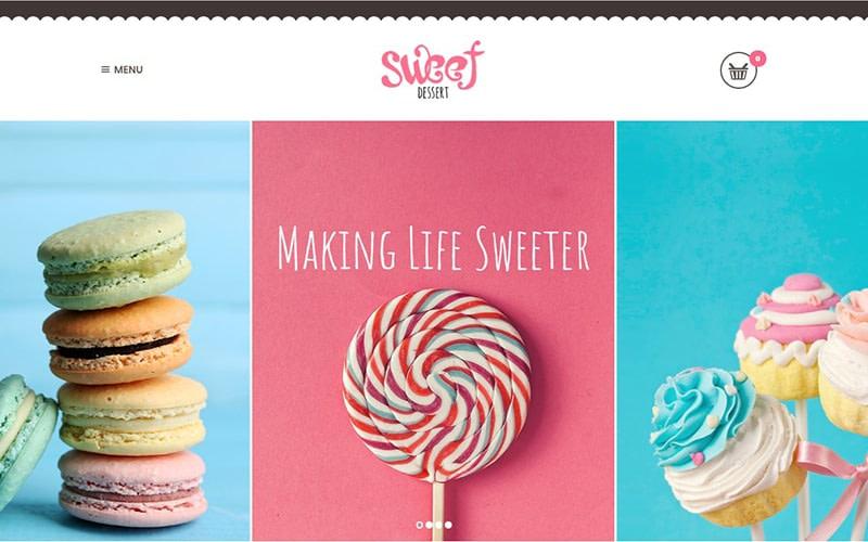 Sweet Dessert Sweet Shop Cafe