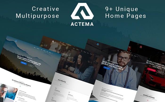 Actema medical theme