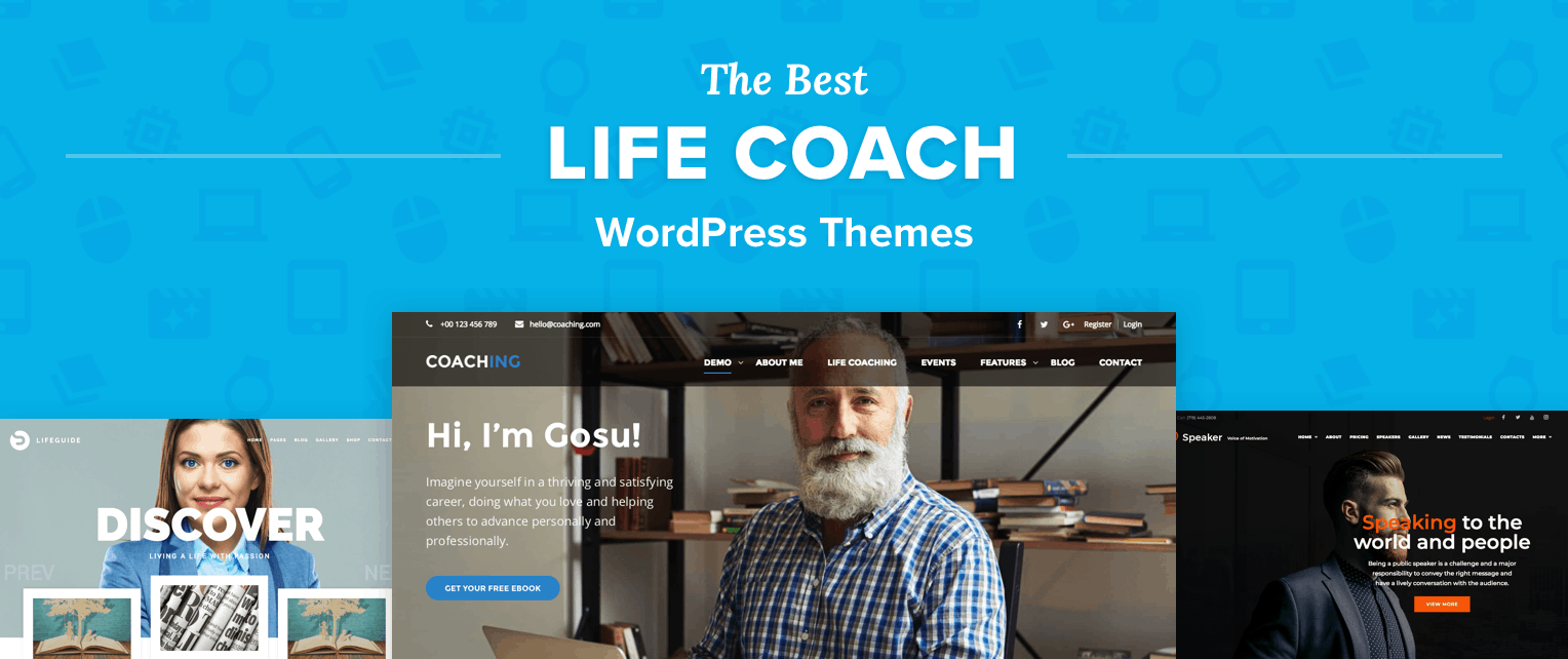 Best Life Coach WordPress Themes