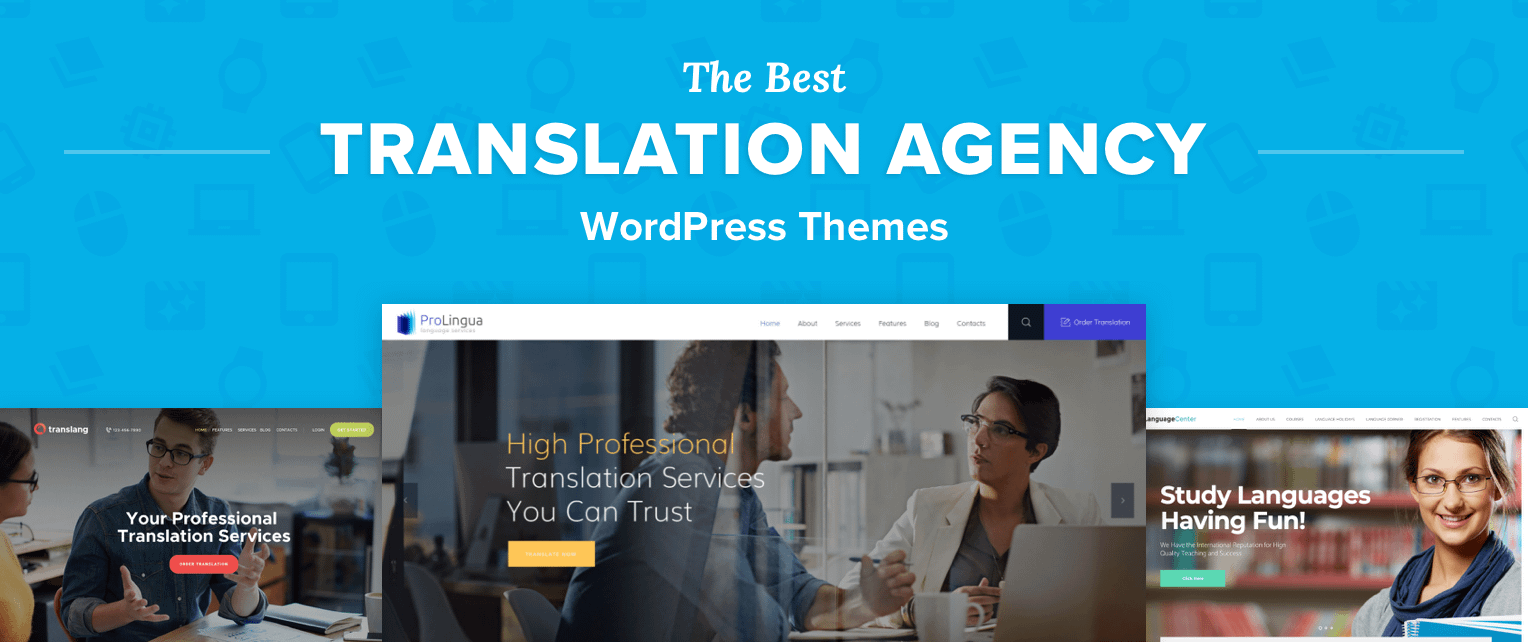 Translation Agency WordPress Themes