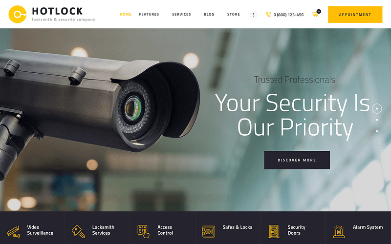HotLock security theme