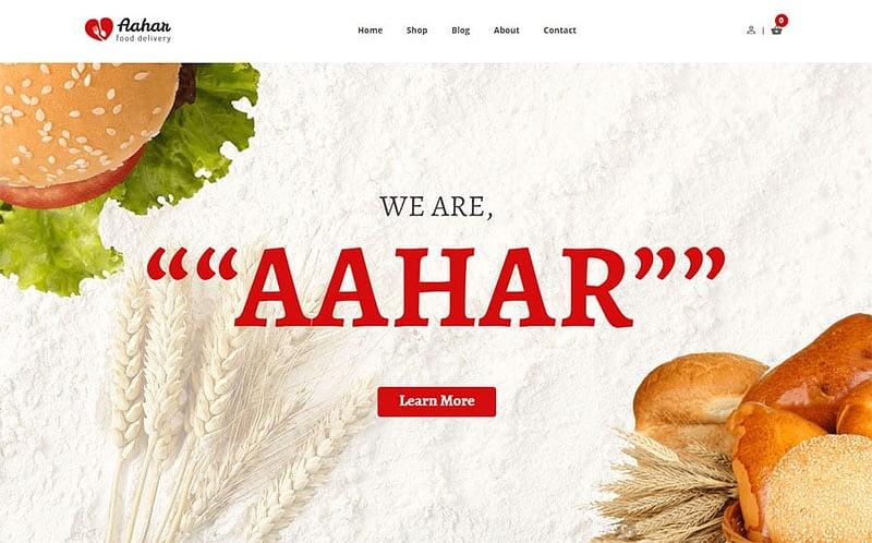 Aahar theme