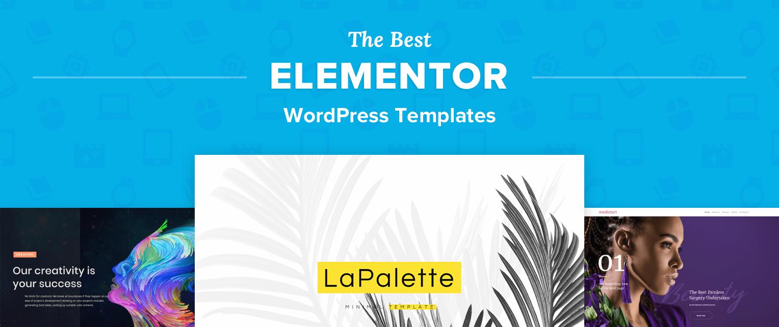 WordPress Elementor Templates