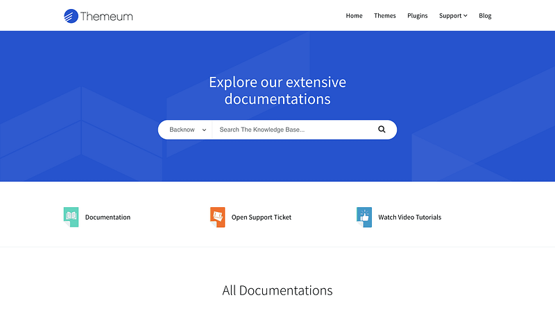 Themeum Documentation