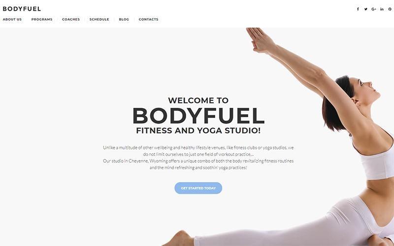 BodyFuel theme