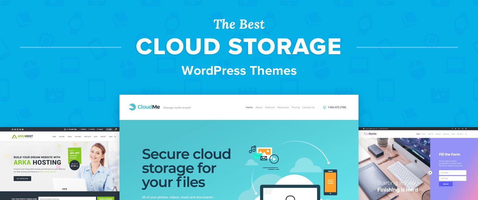 Cloud Storage WordPress Themes