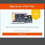 Trial mobile optin