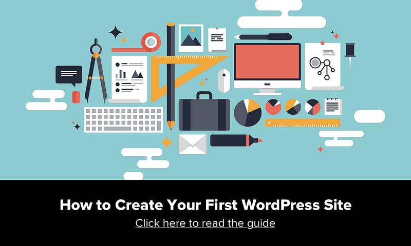 Vytvorte webovú stránku WordPress