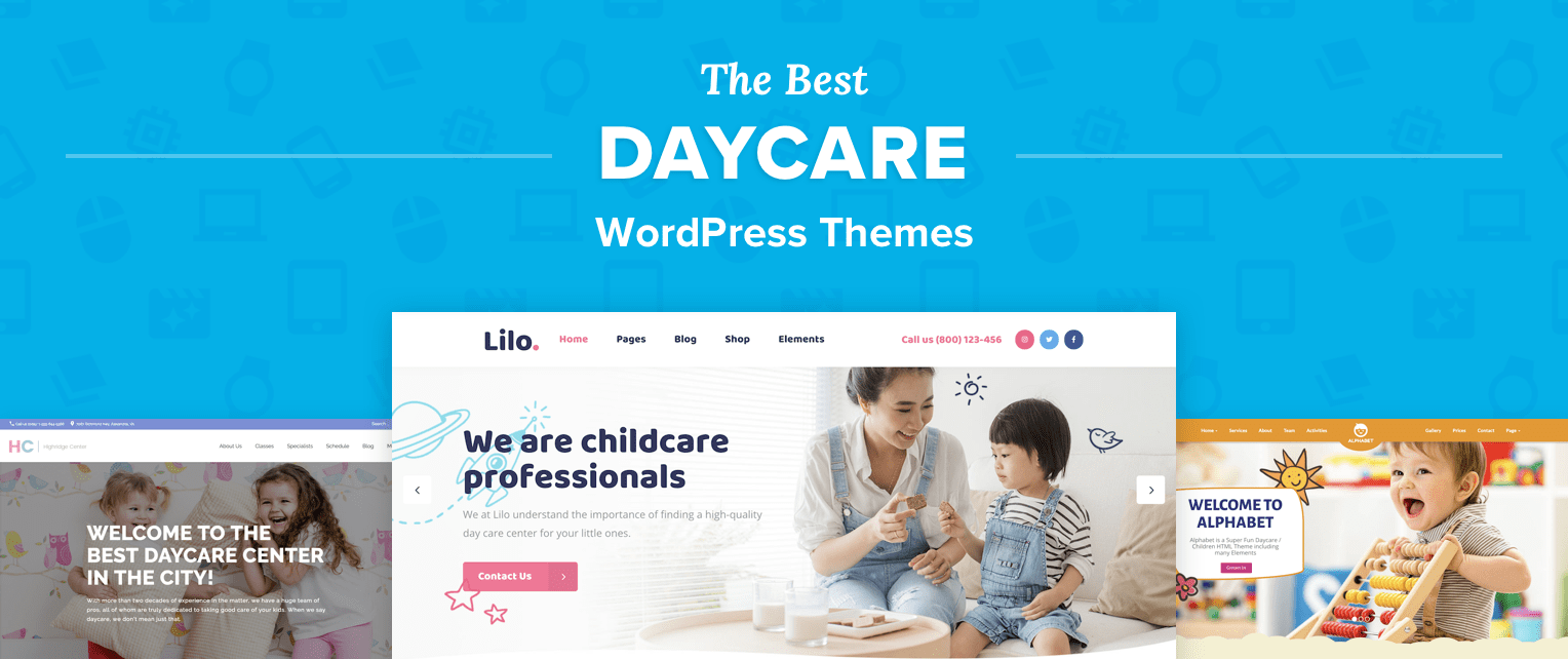 Daycare WordPress Themes