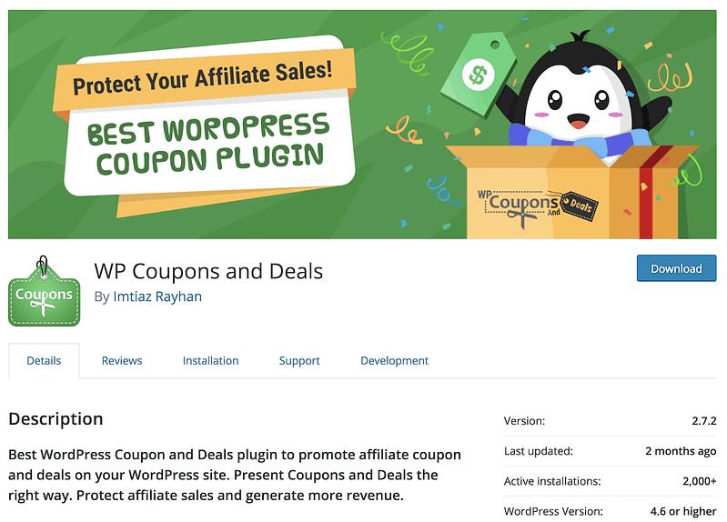 WP Coupons Deals