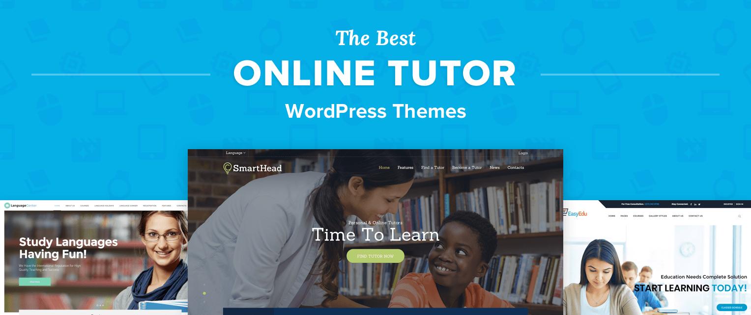 Online Tutor WordPress Themes