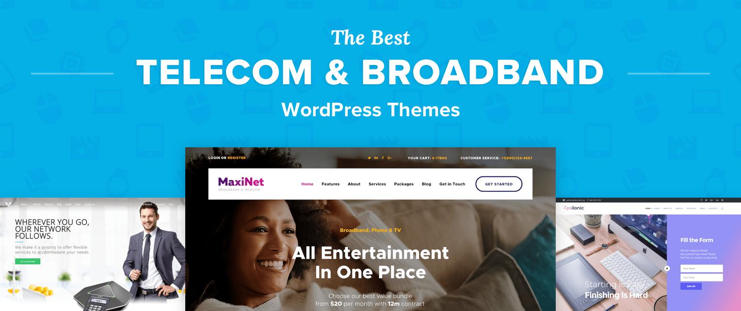 Telecom WordPress Themes