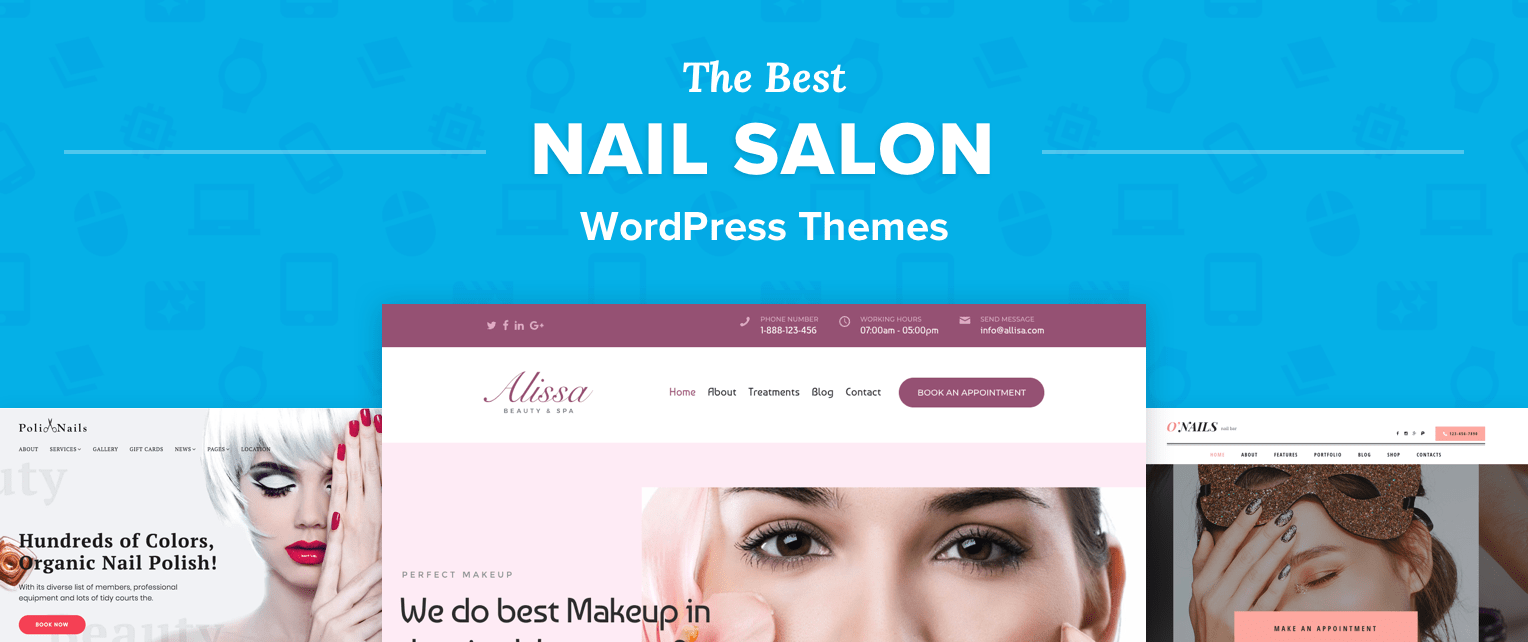 Nail Salon Wordpress Themes
