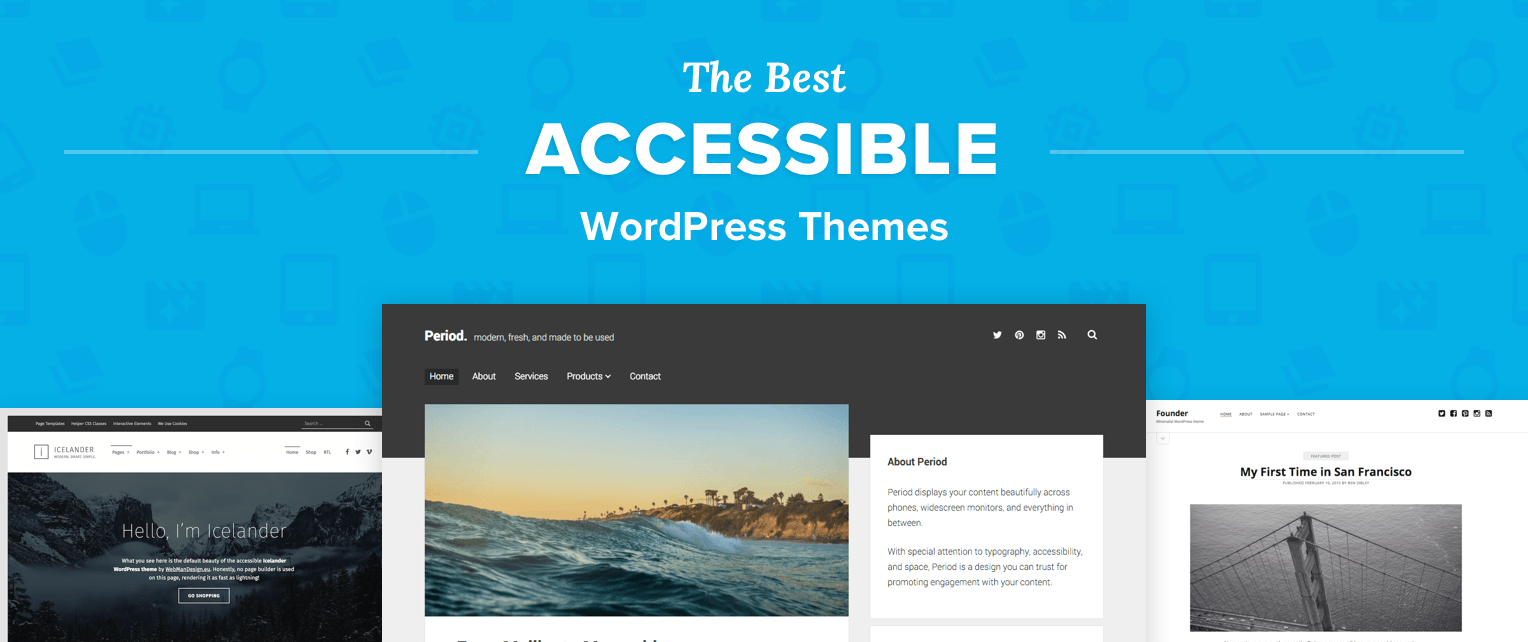 Accessible WordPress Themes