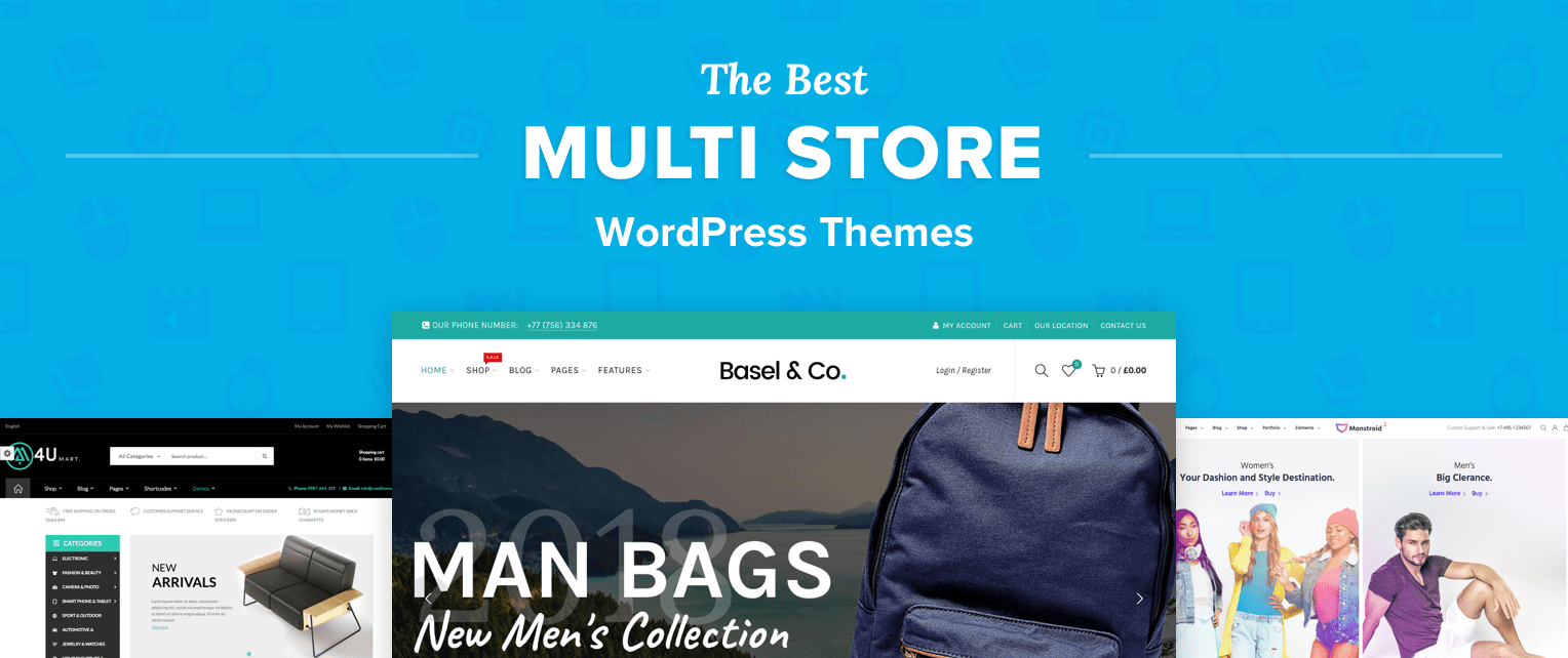 Multi Store WordPress Themes