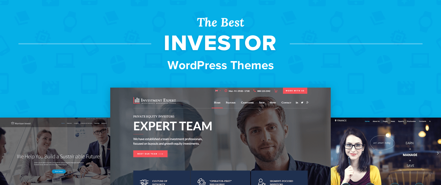Investor WordPress Themes