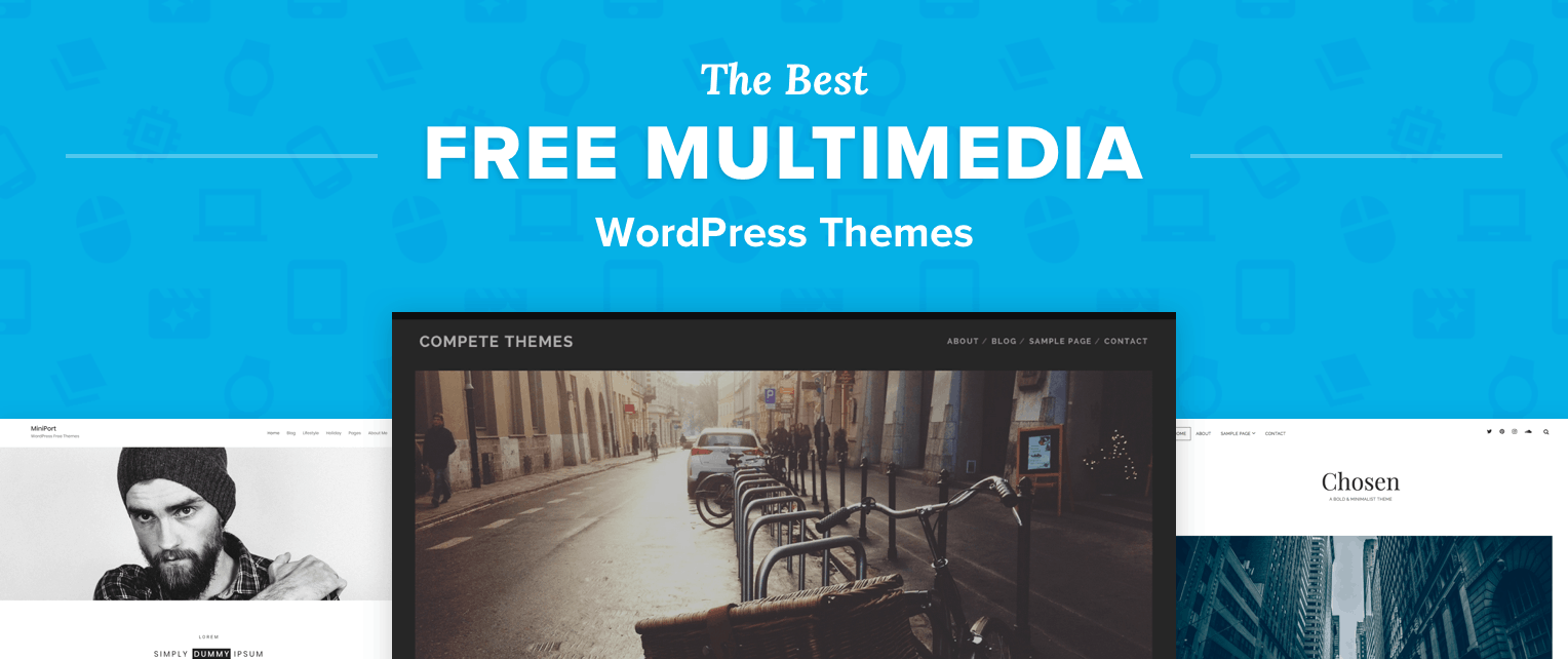 Free Multimedia WordPress Themes