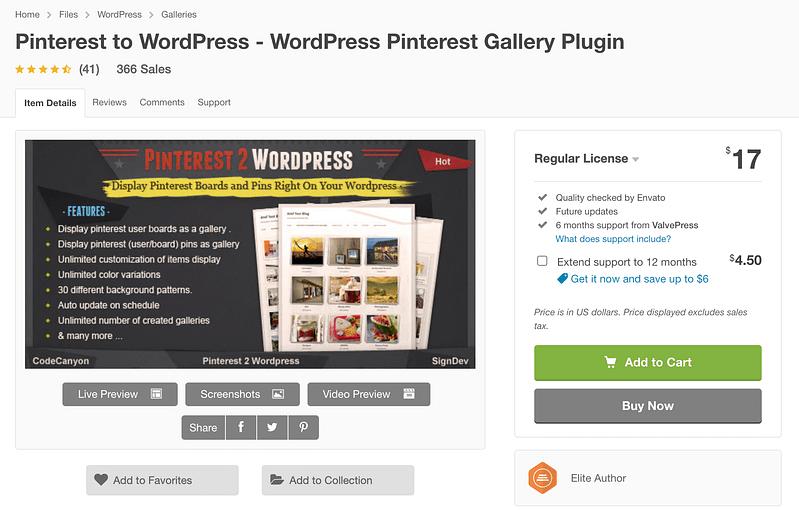 Pinterest To WordPress
