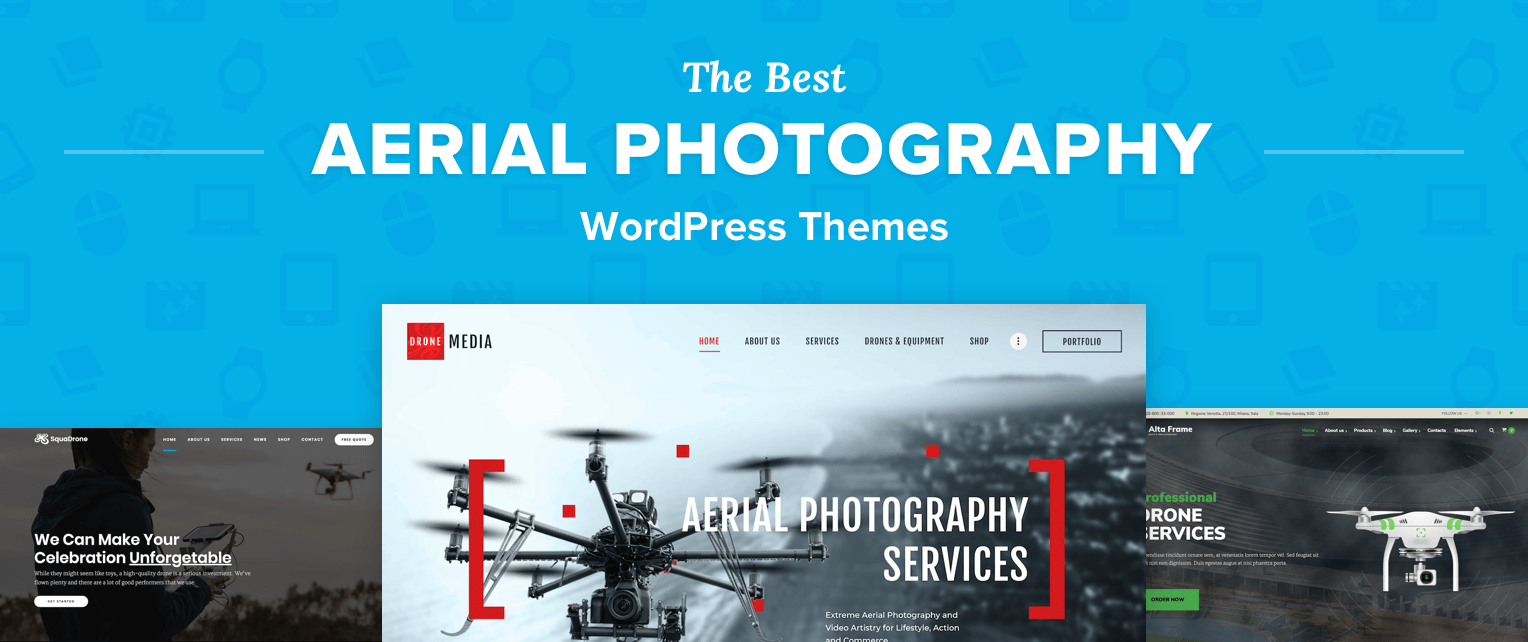 Aerial Photography WordPress Themes