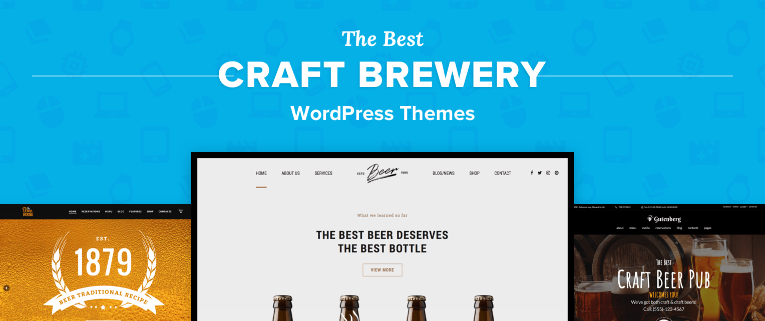 Brewery Wordpress Themes