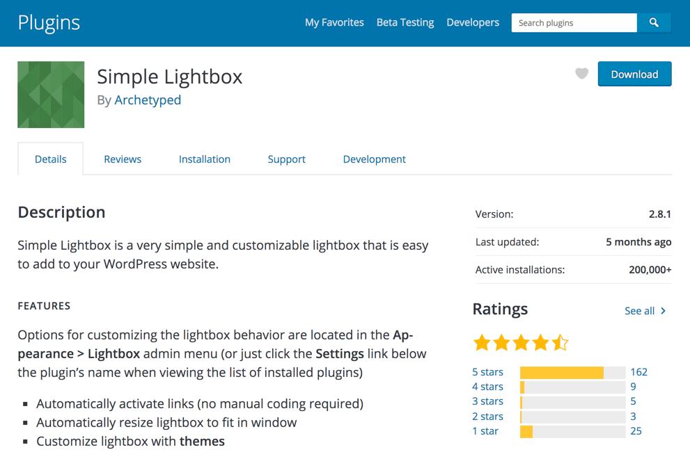 Simple Lightbox