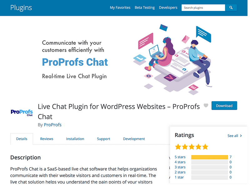 Proprofs Live Chat
