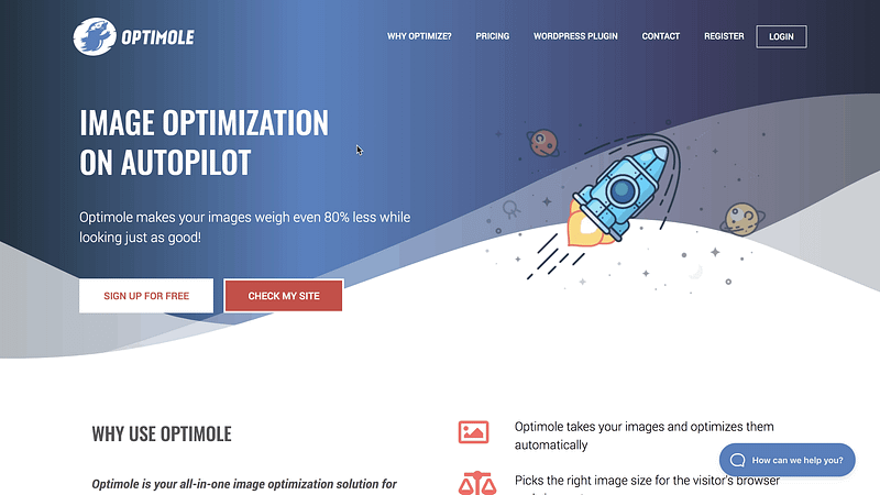 Optimole Website