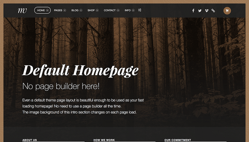 Monument Valley WP theme