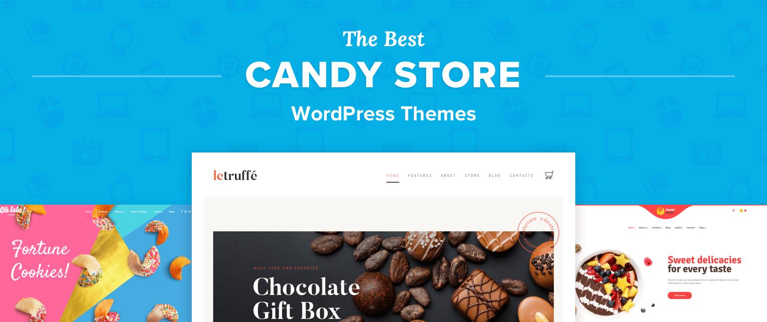 Candy Store WordPress Themes