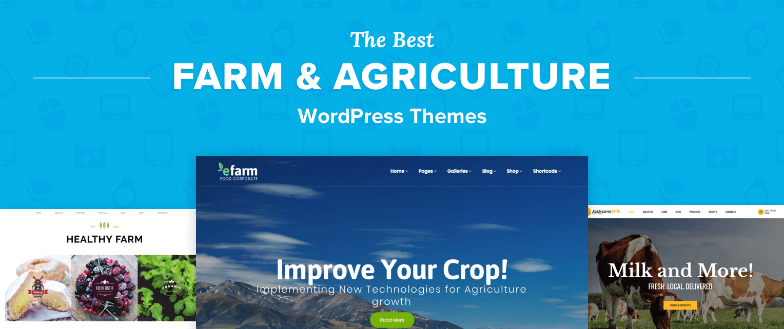 Farming Wordpress Themes