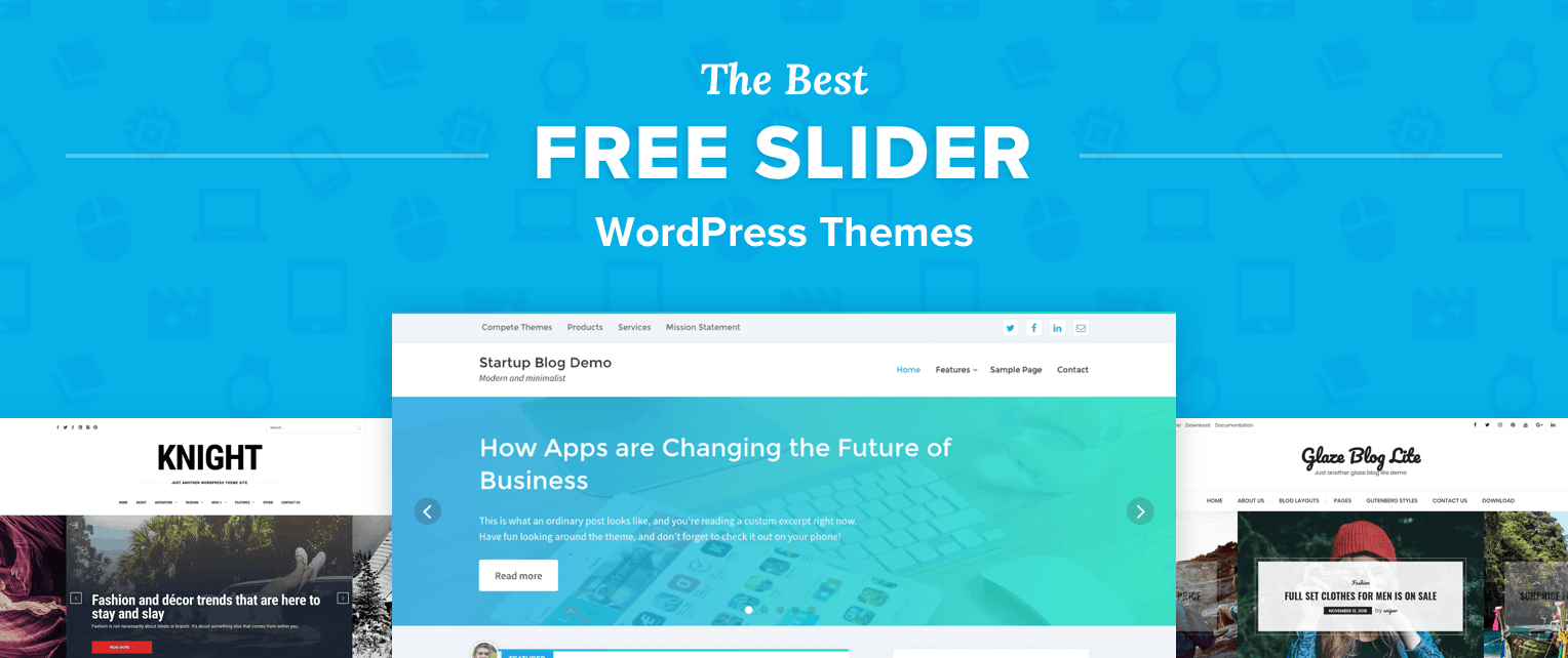 Free Slider WordPress Themes