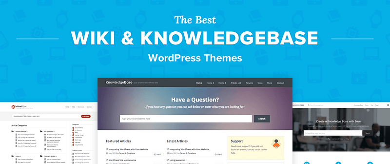 Wiki WordPress Themes
