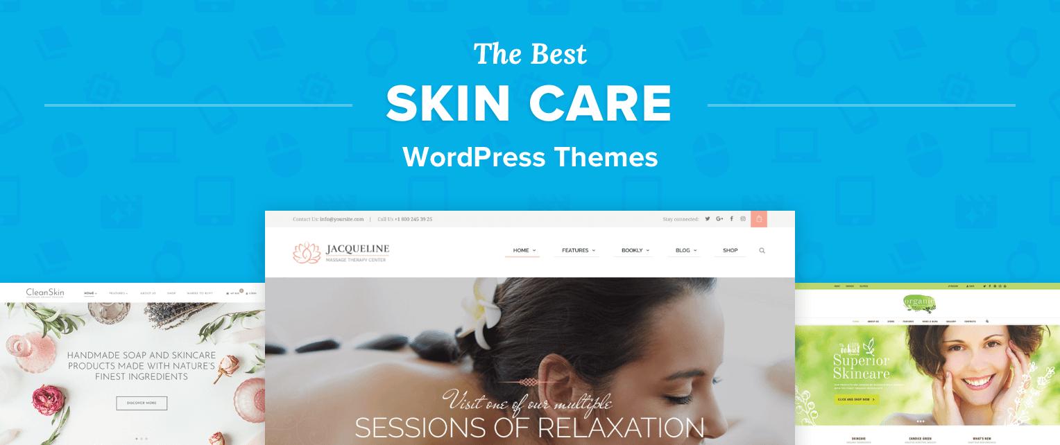 Skin Care WordPress Themes