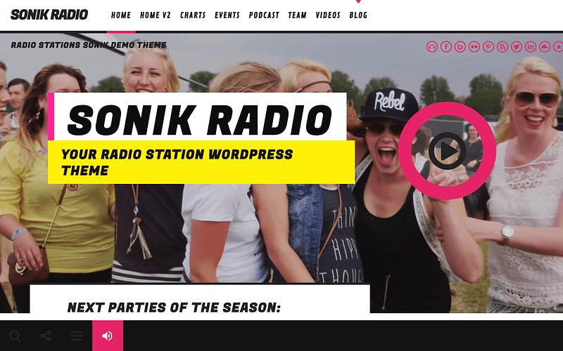 Sonik radio station theme