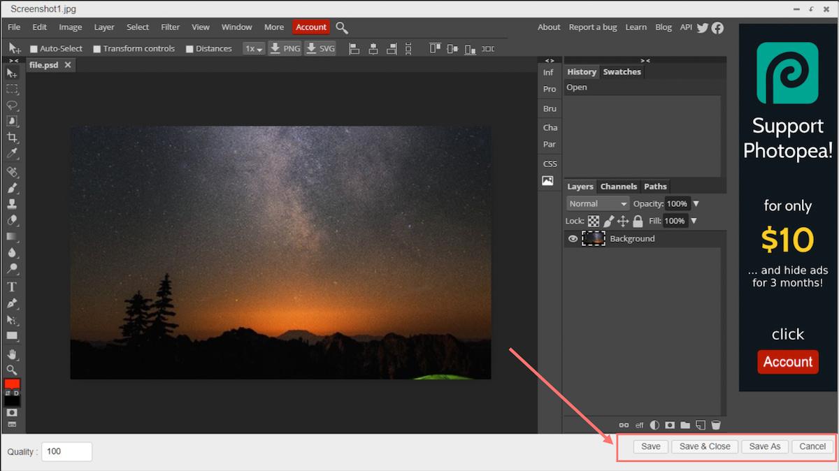 filester image editor