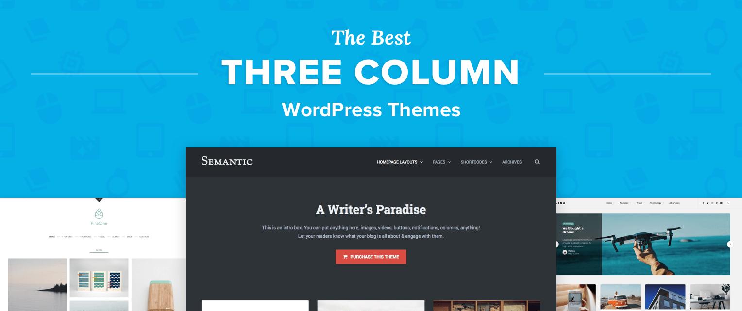 Three Column WordPress Themes