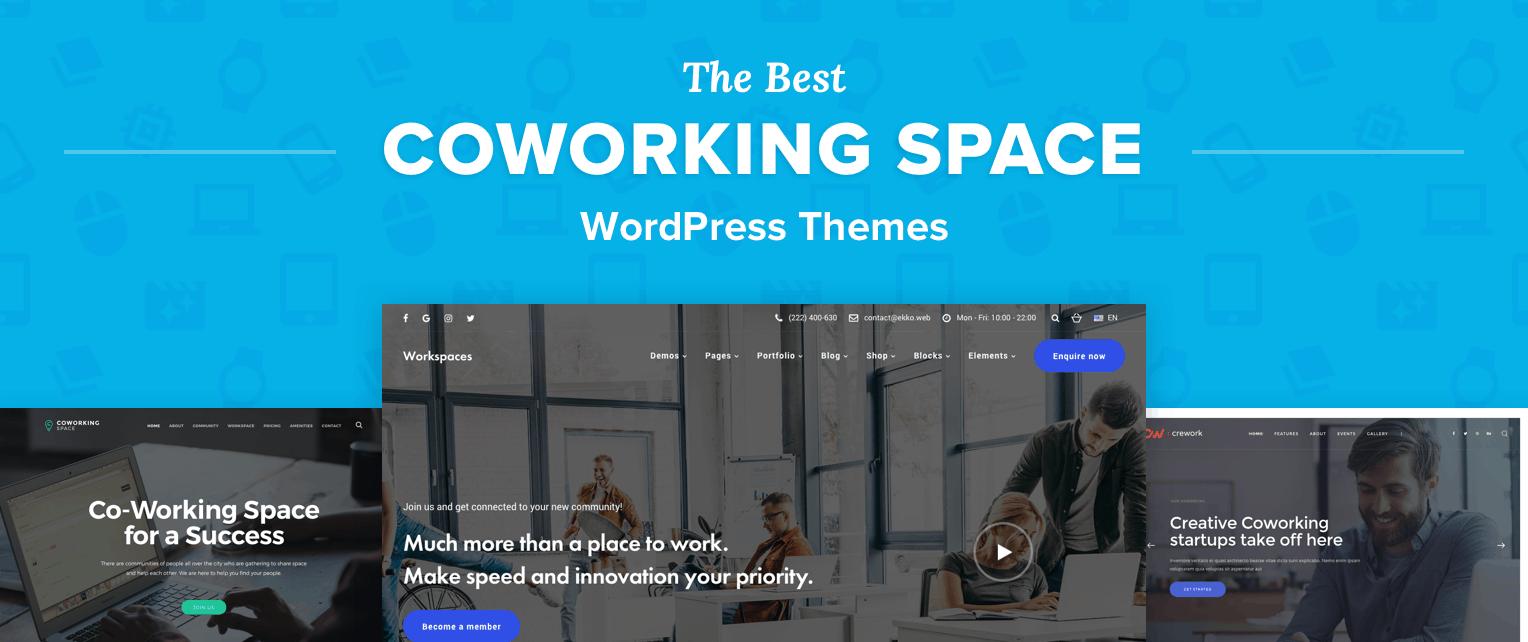 Best Coworking WordPress Themes