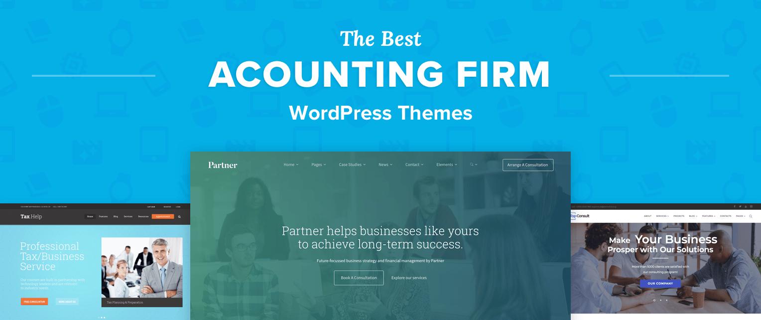 Accountant WordPress Themes