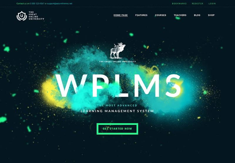 Online University theme