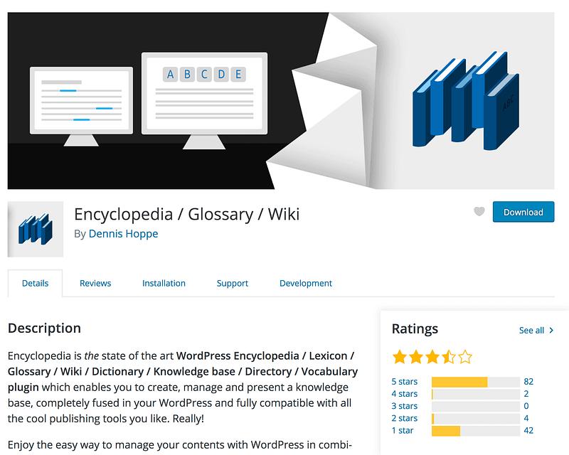 Encyclopedia Plugin