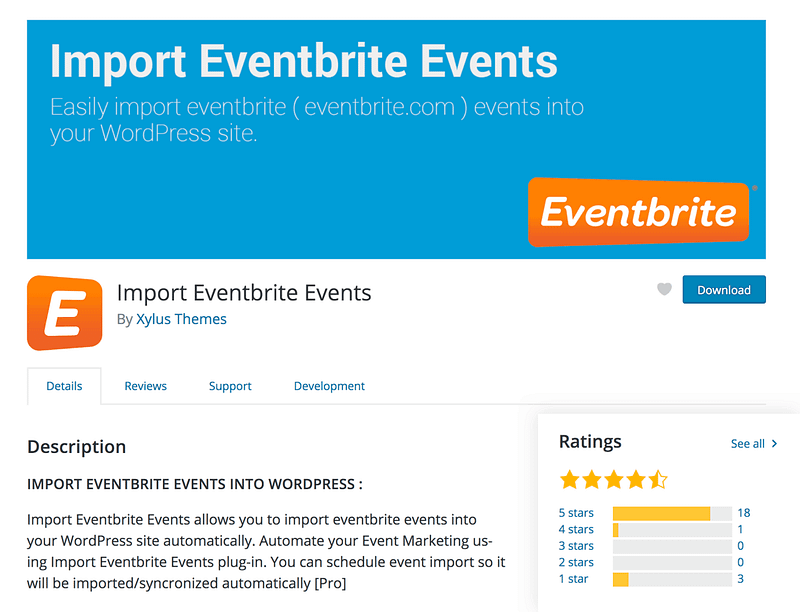 Import Eventbrite Events