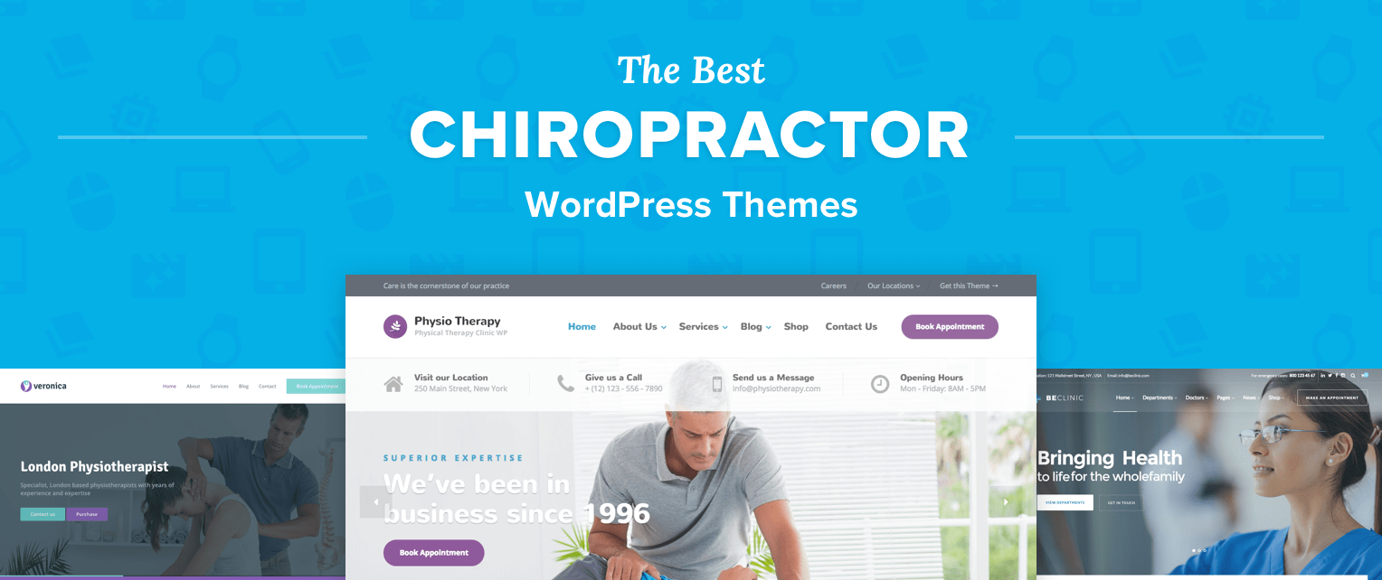 Chiropractor WordPress Themes