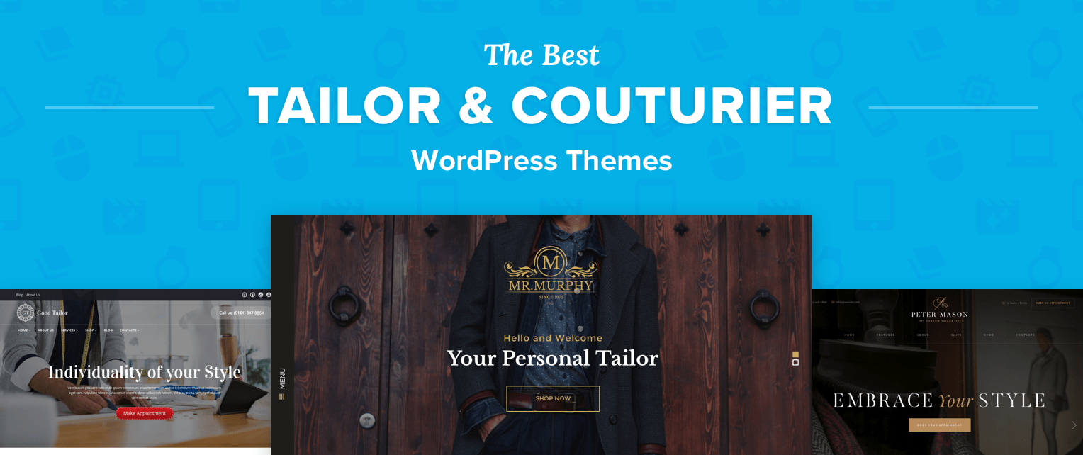 Tailor Wordpress Themes