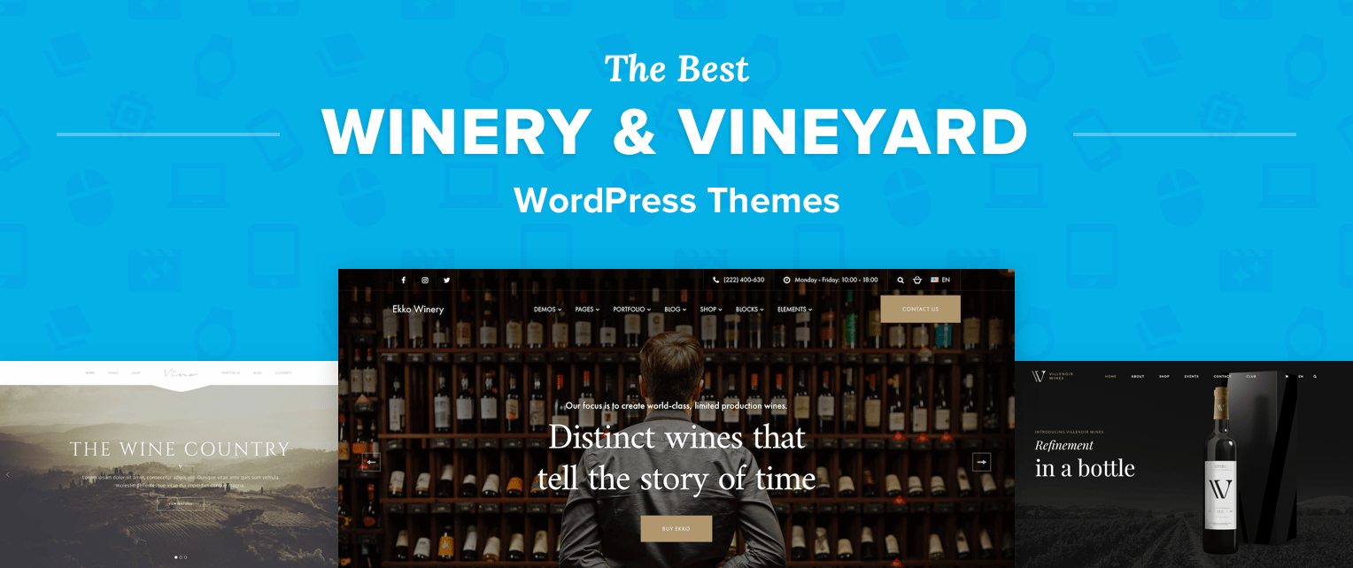 Best Winery WordPress Themes