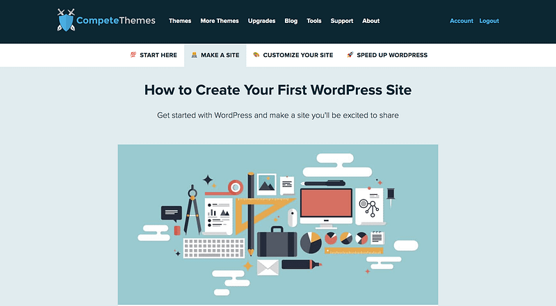 Make First Site