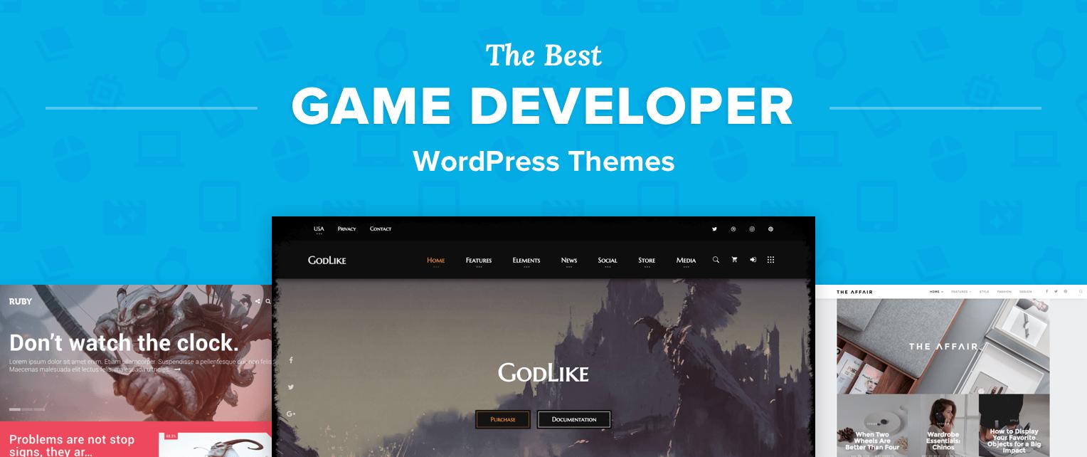 Game Developer Wordpress Themes