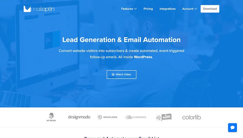 MailOptin Website